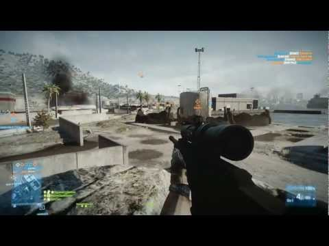 Battlefield 3 Multiplayer Kharg Island Sniper 34 Kills 15 Kill Streak
