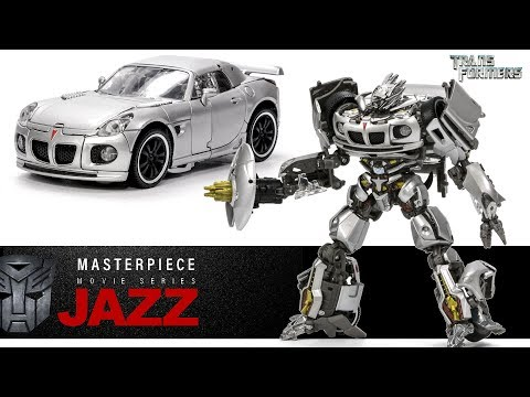 Transformers Movie Masterpiece MPM-9 Autobot JAZZ Car Robot Toys