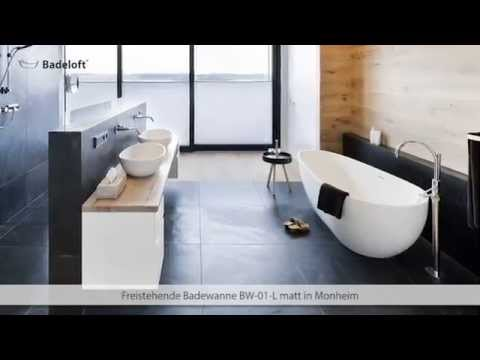 freistehende badewanne bw 01 referenzfotos youtube. Black Bedroom Furniture Sets. Home Design Ideas