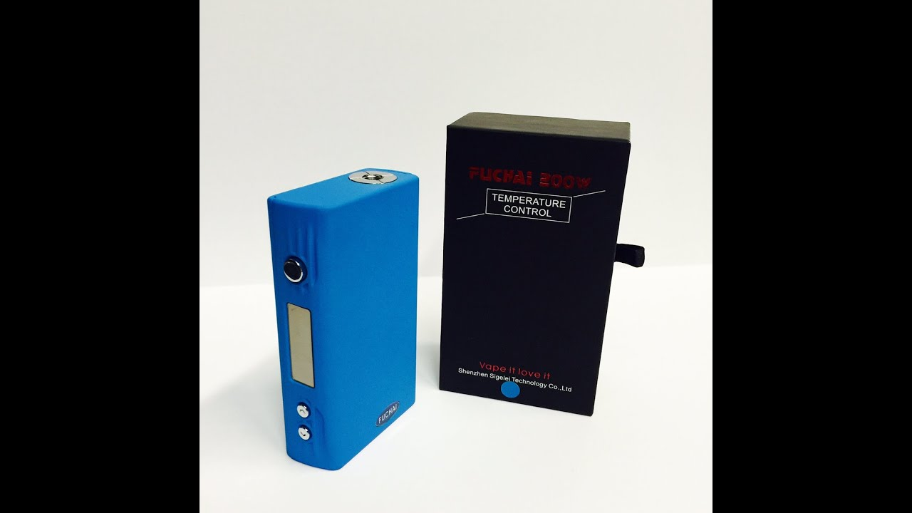 Sigelei 150W TC Temp Control First Look: Sigelei 150W TC VS IPV4 .