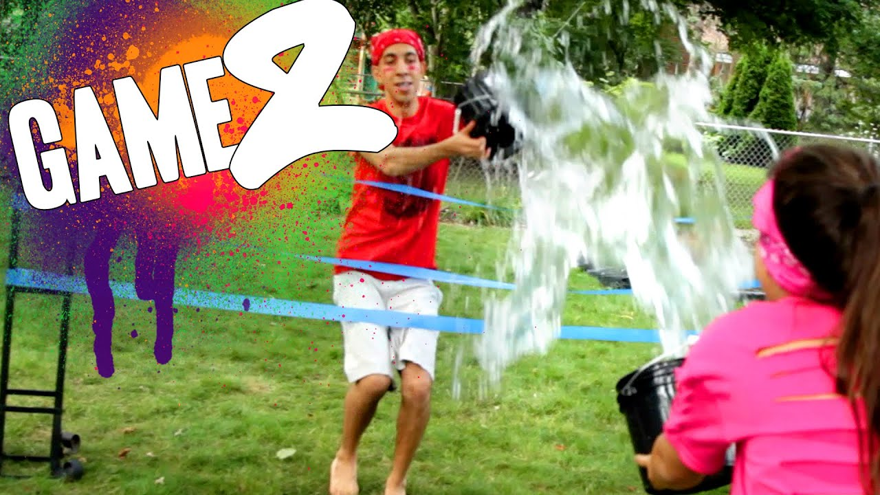 ice water toss backyard games episode 2 youtube