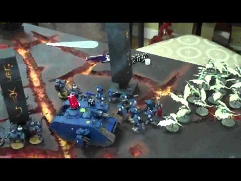 Ultramarines Vs Nids 02 Volcano World (all Armies Currently For Sale)