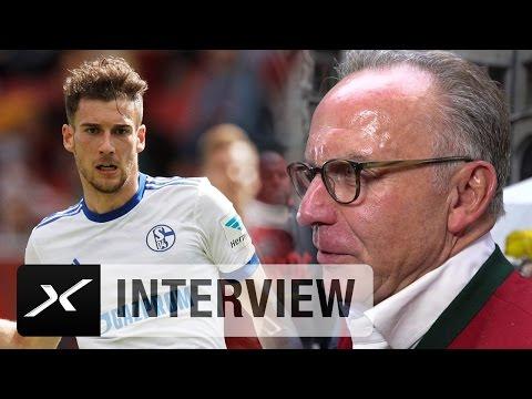Das sagt Karl-Heinz Rummenigge über Leon Goretzka | Meisterfeier des FC Bayern München