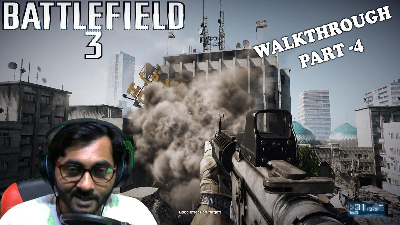Battlefield 3: Walkthrough - Part 4 (BF3 Gameplay) BENGALI (বাংলা ভাষায় করা ভিডিও)