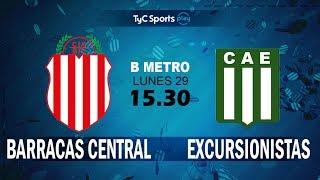 Barracas Central vs Excursionistas full match