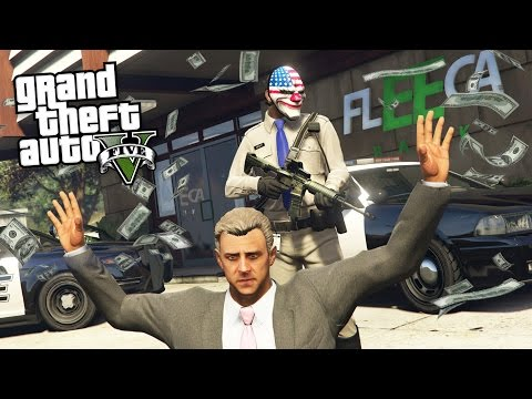 ROBBING BANKS & CRACKING SAFES!! - Part 2 (GTA 5 Mods)