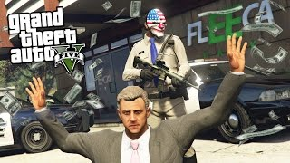 ROBBING BANKS & CRACKING SAFES!! - Part 2 (GTA 5 Mods)