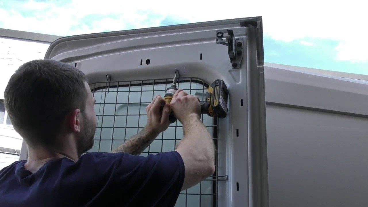 Ford Transit Connect >> American Van Equipment - Installation of Rear Door Window ...