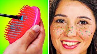INSTAGRAM BEAUTY HACKS || Girly, makeup, tutorials