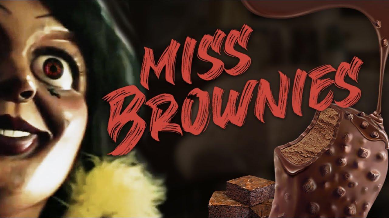 Nestlé Extreme Nama Dark Chocolate Brownies : ตุ๊กตาผีมิสบราวนี่
