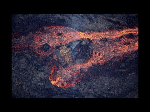 Erupción del volcán de Fuego de Guatemala