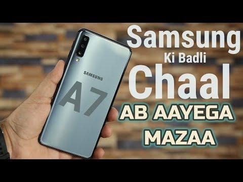 Samsung Galaxy A7 2018 - Triple Camera In Action!!!!