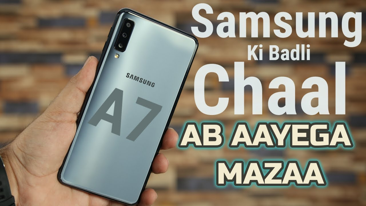 detailed look 870d7 c60d0 Samsung Galaxy A7 2018 - Triple Camera In Action!!!!