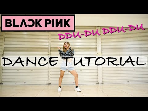 [MIRRORED] BLACKPINK - '뚜두뚜두 (DDU-DU DDU-DU)' DANCE TUTORIAL | Natya Shina