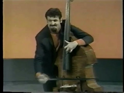 Gary Karr at his best - interview and live performance 1969