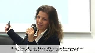 Dr.ssa Vidheya Del Vicario - Affettività, sessualità e aggressività 2018 - Parte 2