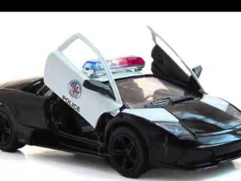 Lamborghini Police Car Toy For Kids Toy Police Cars Youtube