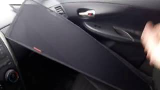 Toyota Corolla. Каркасные автошторки.