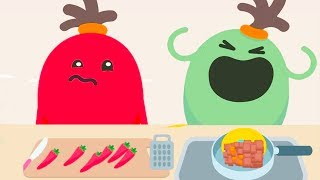 Spicy Kids Learn Cooking - Baby Fun Making Foods | Dumb Ways JR Boffo's Breakfast #29