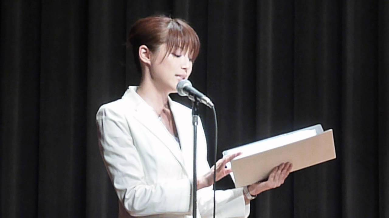 MC 榎田 さくら 講演会での司会 ...