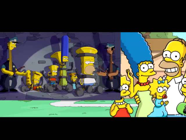 THE SIMPSONS - -MusicVille- Couch Gag - ANIMATION