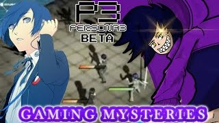 Gaming Mysteries: Persona 3 Beta (PS2)