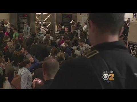 Police Taser Sparks Pandemonium At Penn Station