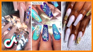 Gorgeous Nail Transformation Acrylic Nail Art Designs TikTok Compilation
