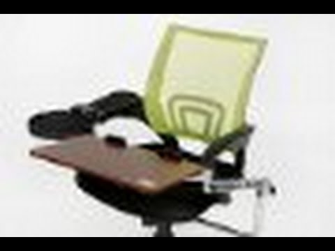 ELink Pro Chair Mount Ergonomic Keyboard And Laptop Tray System