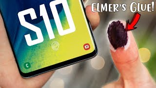 Galaxy S10 vs OnePlus 6T - Fingerprint Sensor HACK Test