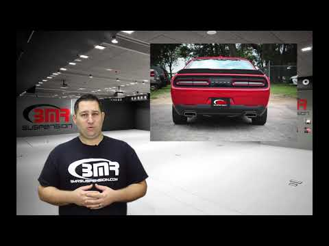 BMR Suspension Product Video - Lower Trailing Arms for 2008 2017 Dodge Challenger - LTS110, LTA111,