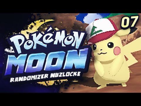 HOLY SH*T ASH'S PIKACHU !!!   Pokemon Moon Randomizer Nuzlocke - 07 w/ TheHeatedMo