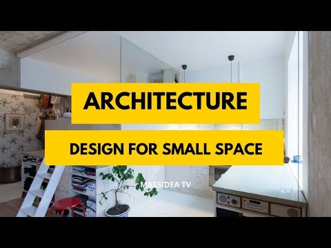 100+ Amazing Small Space Architecture Design Ideas for House
