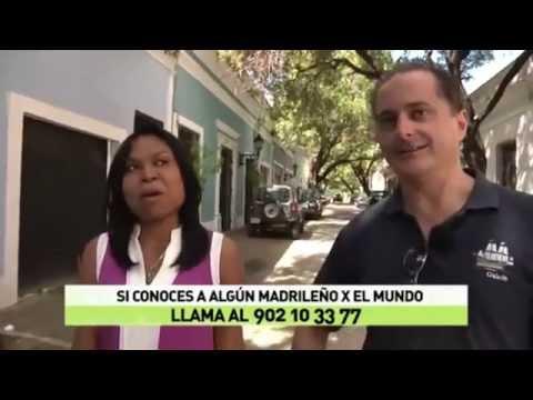 Yo en Madrileños por el Mundo - Santo Domingo