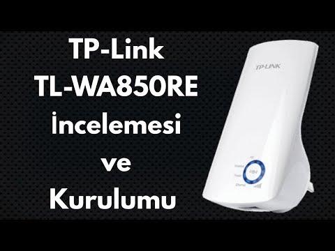 Tp-Link TL-WA850RE Menzil Genişletici/Artırıcı Range Extender İncelemesi ve Kurulumu