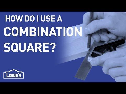 How Do I Use A Combination Square? | DIY Basics