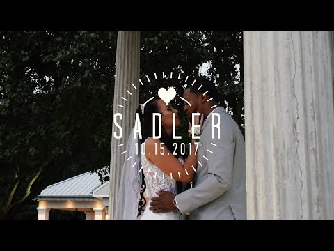 Dahvoughn & Jacqueline Sadler's Beautiful Wedding | Celebrations