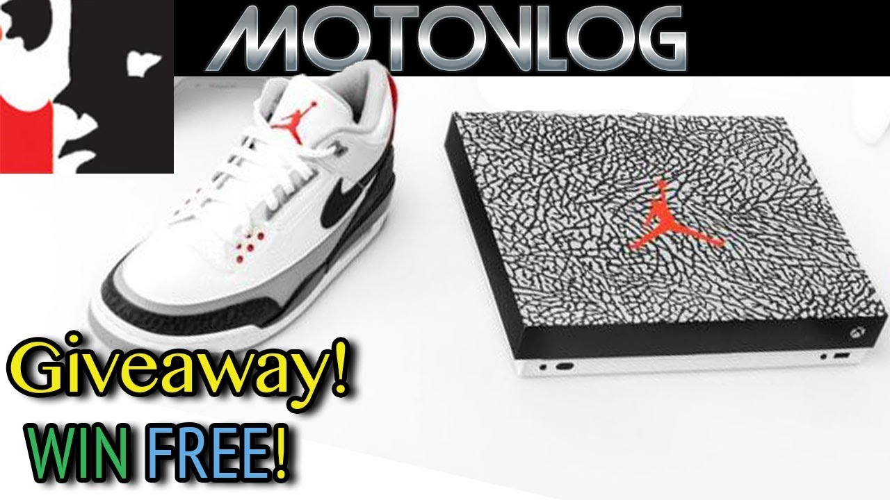 Win an Air Jordan 3 Xbox One X Giveaway
