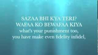Yeh Jism Hai To Kya Lyrics  Jism 2 with English Translation Ali Azmat   YouTube