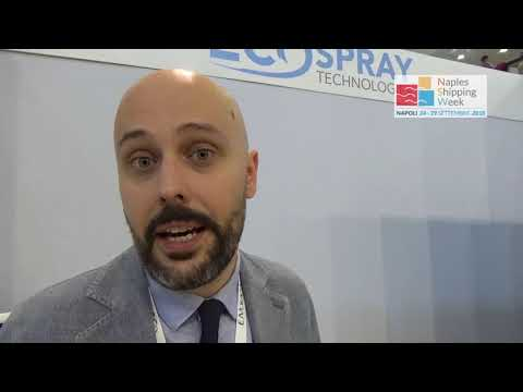 Alberto Di Cecio, Marine operation manager, Ecospray Technol