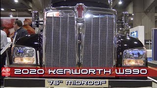 2020 Kenworth W990 76'' MidRoof - Exterior And interior - ExpoCam 2019
