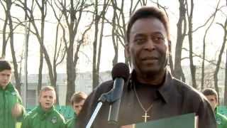 Встреча с легендой. Пеле посетил Академию ФК «Краснодар»