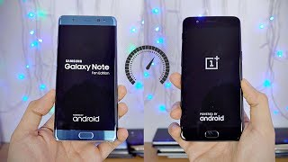 Samsung Galaxy Note FE vs OnePlus 5 - Speed Test! (4K)