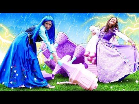 Die Prinzessin Kommt In Den Regen - Video Für Kinder