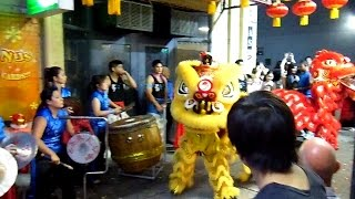 Lion Dance Vlog #14 Chinese New Years Eve Perth Australia 2014 #KinKee