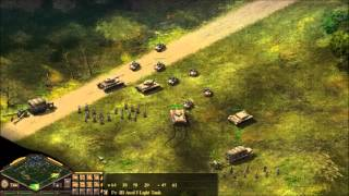 Blitzkrieg Burning Horizon - Panzers advancing