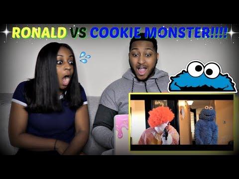 Rackaracka Ronald McDonald VS Cookie Monster REACTION!!!