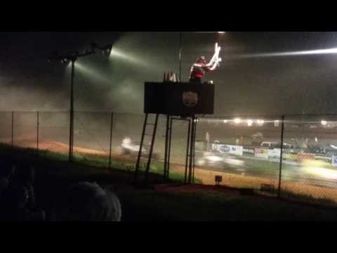 USAC Sprint Car Feature Part 2/2  Bloomington Speedway