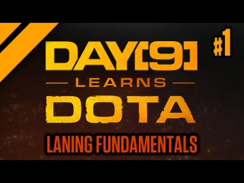 Day[9] Learns Dota - 1. Laning (Lesson w/ coach Purge)