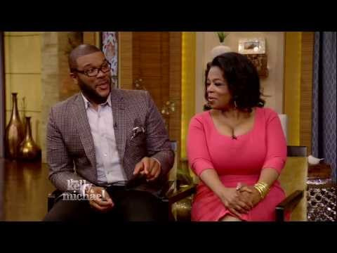 """Oprah Winfrey and Tyler Perry Chat About New OWN TV Series -- """"LIVE with Kelly and Michael"""""""